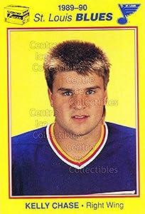 (CI) Kelly Chase Hockey Card 1989-90 St. Louis Blues Kodak 5 Kelly Chase