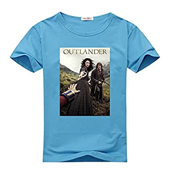 Diytshirt outlander t shirt custom men 39 s for Amazon custom t shirts