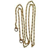The Della Purse Chain - 120 cm Silver Tone or Gold Tone Replacement Lumachina Link Purse Chain for Handbag Bag Wallet