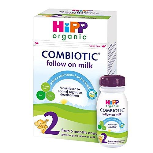 Hipp Orgánica 2 leche de continuación - a partir de 6 meses, 7 pack (