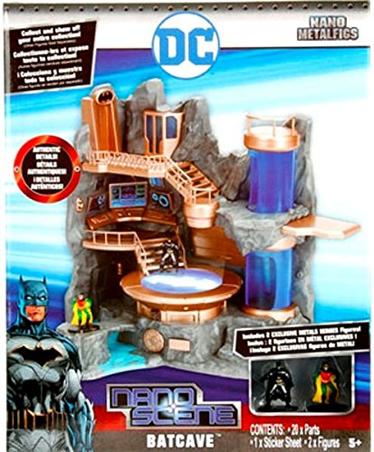 Batman Nano Metalfigs Batcave Nano Scene Playset