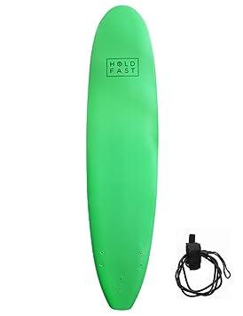 8 Ft 0 Foamie suave Top Larga principiantes Espuma de tabla de surf tabla de surf