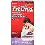 infant grape tylenol - TYLENOL Infants' Oral Suspension Grape Flavor 1 oz (Pack of 12)