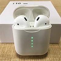AIJEESI Telecomando Cuffie Bluetooth con Custodia di Ricarica Wireless