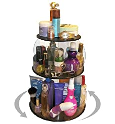 Makeup & Cosmetic Organizer That Spins for Easy Access to all your Beauty Essentials, NO More Clutter!Save Space, Only 12 needed on Your Counter
