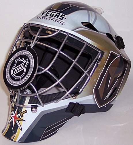 Las Vegas Golden Knights NHL Full Size Youth Goalie Hockey Mask - New with Tags - Not for Competitive Play