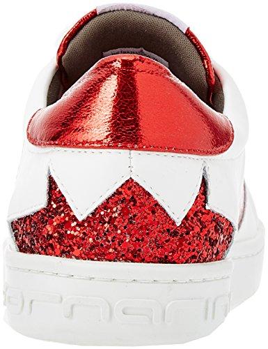 white 76 Bianco Sneaker Fornarina Donna Andromeda 7wqRIF0