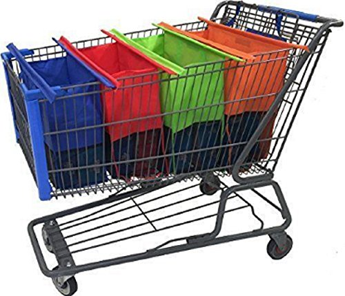 set-of-4-reusable-shopping-bags-eco-foldable-trolley-tote-grocery-cart-storage