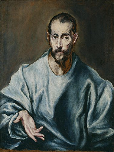 14' Wok Set (Oil Painting 'El Greco Saint James The Elder 1610 14', 20 x 27 inch / 51 x 67 cm , on High Definition HD canvas prints is for Gifts And Bar, Nursery And Study Room Decoration, for sale)