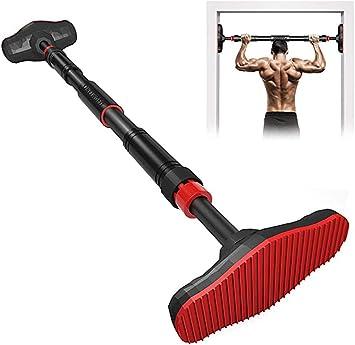 XUDREZ Barra de dominadas, barra ajustable para dominadas, perfecta para flexiones, dominadas y brazos, ejercicios de hombro, aproximadamente hasta ...