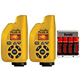 PocketWizard 801-131 Plus III Transceiver (Yellow, 2-Pk) w/ AA Batteries