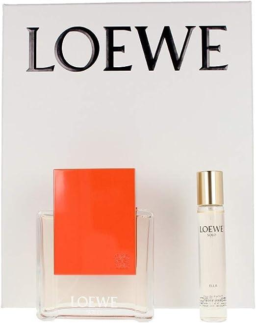 Loewe Solo Loewe Ella Edp Vapo 100 Ml Sets: Amazon.es: Belleza
