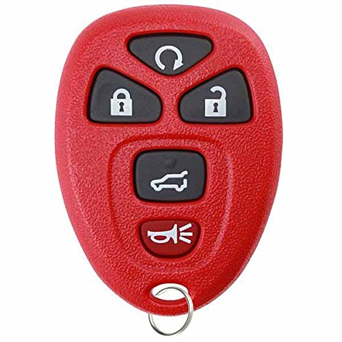 KeylessOption Keyless Entry Remote Control Car Key Fob Replacement for 15913415 with Key Pack of 2