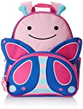 "Skip Hop Toddler Backpack, 12"" Butterfly School Bag, Multi"