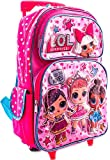 L.O.L Surprise! Large Rolling Backpack 16""