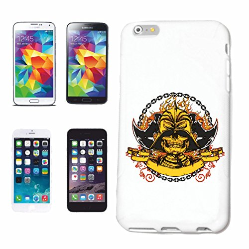 "cas de téléphone iPhone 7 ""CHOPPER BIKER SHIRT MOTO CHOPPER MOTO GOTHIQUE SKULL MOTO CLUB BIKE ROUTE 66"" Hard Case Cover Téléphone Covers Smart Cover pour Apple iPhone en blanc"