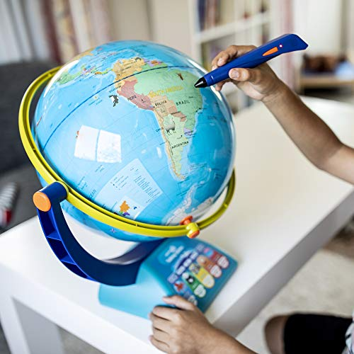 51Xy5i65UKL - Educational Insights GeoSafari Jr. Talking Globe Featuring Bindi Irwin Learning Toy