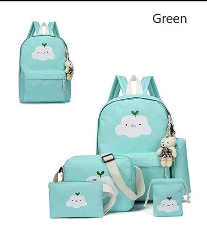 328d0613b8c9 Amazon.com: Nylon Backpack Schoolbags School for Girl Teenagers ...