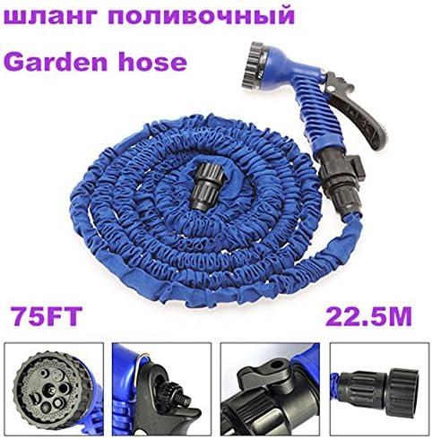 SHIJING Magic flexible hose Garden hose water Hose watering & irrigation pipes with spray gun expandable car hose Garden supplies hoses Garden Reels EU/US,125FT 75FT