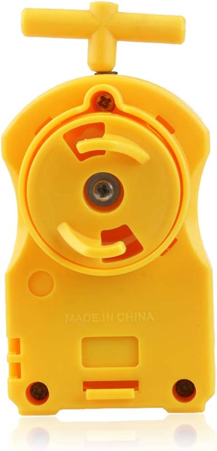 NUOBESTY Burst Turbo Slingshock Precision Strike Launcher Compatible with Right Left Spin Tops Age 8 Toy Random Color