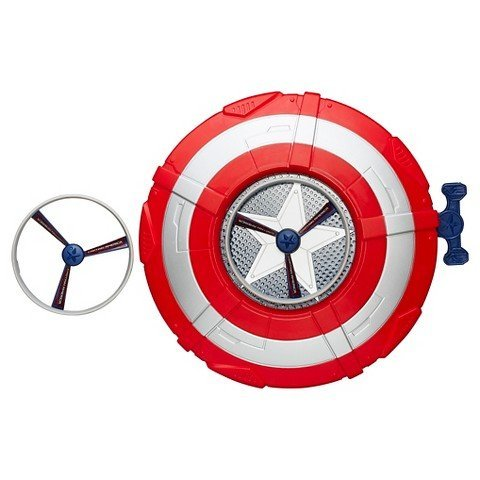 Star Shield - Marvel Avengers Age of Ultron Captain America Star Launch Shield TRG