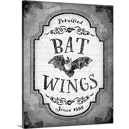 GREATBIGCANVAS Gallery-Wrapped Canvas Entitled Bat Wings by Jennifer Pugh 19