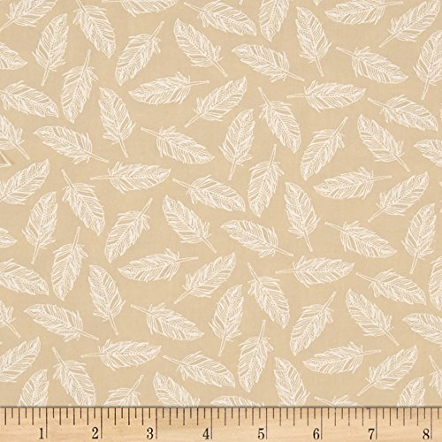 Moda Whispers Muslin Mates Float On Natural Fabric By The (Moda Muslin Mates)