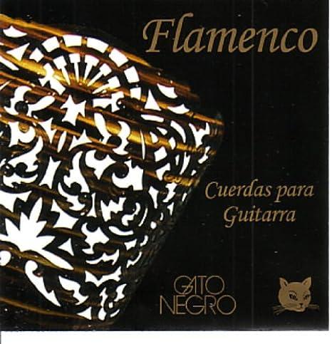 Juego de cuerdas Gato Negro Flamenca para guitarra clásica y ...