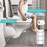 TreeLen Toilet Paper Holder Stand Toilet Tissue