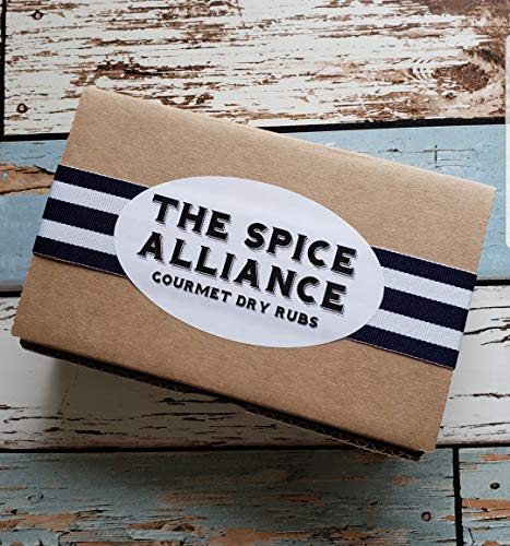 (The Spice Alliance Fire Up The Grill Rubs & Seasonings. Gift set of 6 two oz jars)