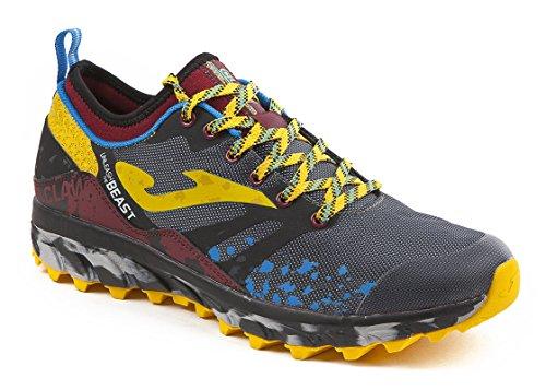 Joma Claw, Zapatillas de Running para Asfalto para Hombre Gris (Grey)