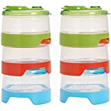 OXO Tot 6 Piece Stackable Formula Containers Set (6 Pack)