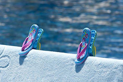 pinzas silla playa chanclas