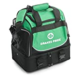 Drakes Pride Pro Midi Bowls Bag - Green and Black