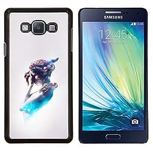 """Be-Star Único Patrón Plástico Duro Fundas Cover Cubre Hard Case Cover Para Samsung Galaxy A7 / SM-A700 ( Futuro Pintura abstracta Mujer"""" )"""