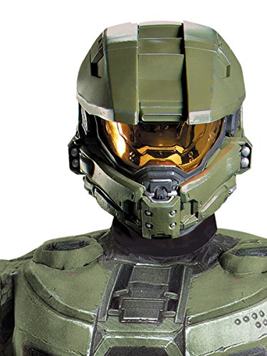 HALO Master Chief Adult Full Helmet Costume Accessory]()