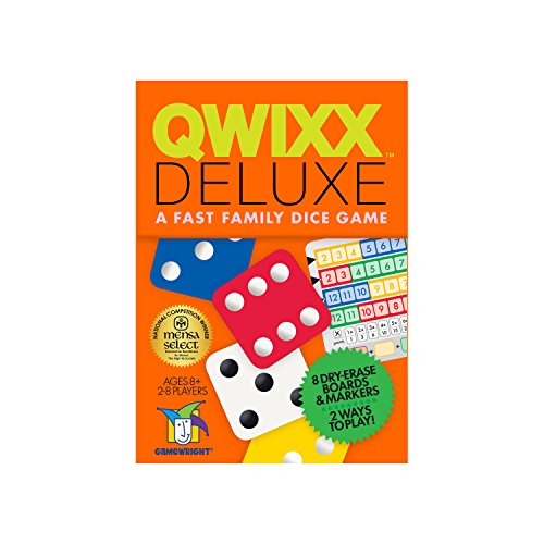 Qwixx Deluxe Fast Family Dice