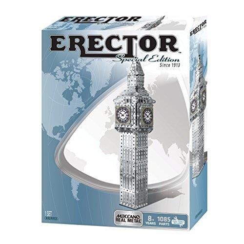 Meccano Erector Big Ben Building Kit (Special Edition)
