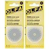 2-Pack - OLFA 9456 PIB45-1 45mm Stainless Steel Pinking Blade