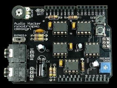 Audio Hacker Arduino Shield