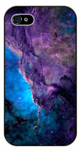 iPhone 5C Purple nebula - black plastic case / Space, star, stars