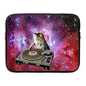 "Laptop Sleeve Briefcase Cats In Space Printed Waterproof Neoprene Laptop Carrying Bag Case For IPad Air 2/Macbook Pro 15""/Notebook/Lenovo Yoga 910"