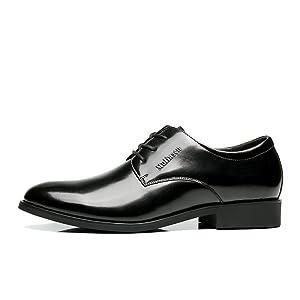 Mens Oxfords Classic Modern Round Captoe Wing Tip Lace Up Dress Shoes 39EU=6 D(M)US