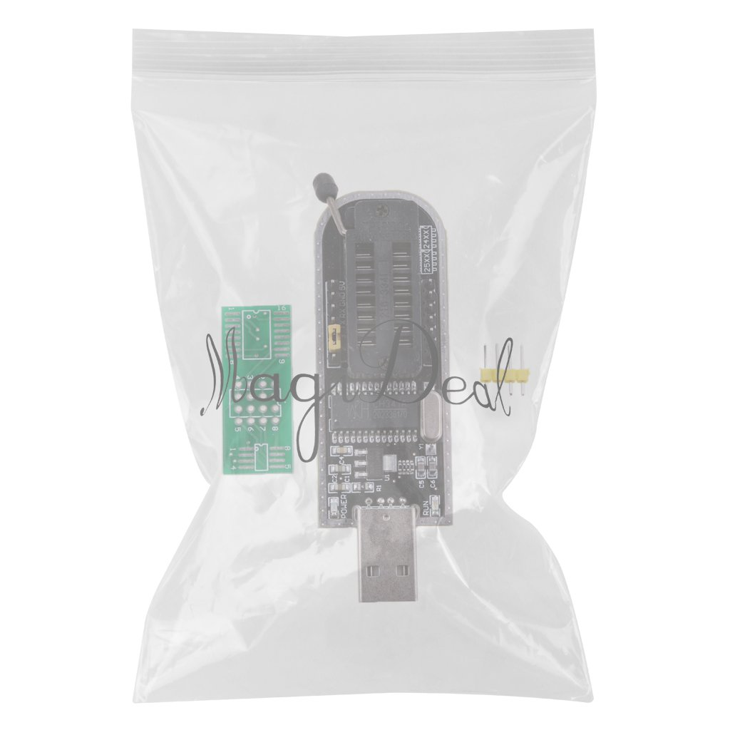 MagiDeal CH341A 24 25 Series EEPROM Flash BIOS USB Programmer with Software & Driver by MagiDeal (Image #3)