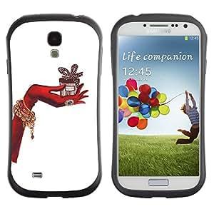 Suave TPU GEL Carcasa Funda Silicona Blando Estuche Caso de protección (para) Samsung Galaxy S4 I9500 / CECELL Phone case / / your gift /
