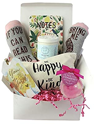 Special Birthday Gift Basket Box for Her- Unique Gift Basket Box for Mom,Wife,Friend,Aunt,Sister- Best Gifts For Women