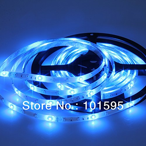 Corcrest(TM) New Waterproof 3528 RGB LED Strip 5M 60leds/m SMD+24key remote+12V 2A Power Adapter Flexible Light by Corcrest (Image #4)