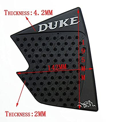 Cheap Sale 1 Pair Of Motorcycle Anti-slip Gas Tank Traction Pad Mat Knee Grip Sticker Protector For Ktm Duke Motorcycle Accessories Motorcycle Accessories & Parts
