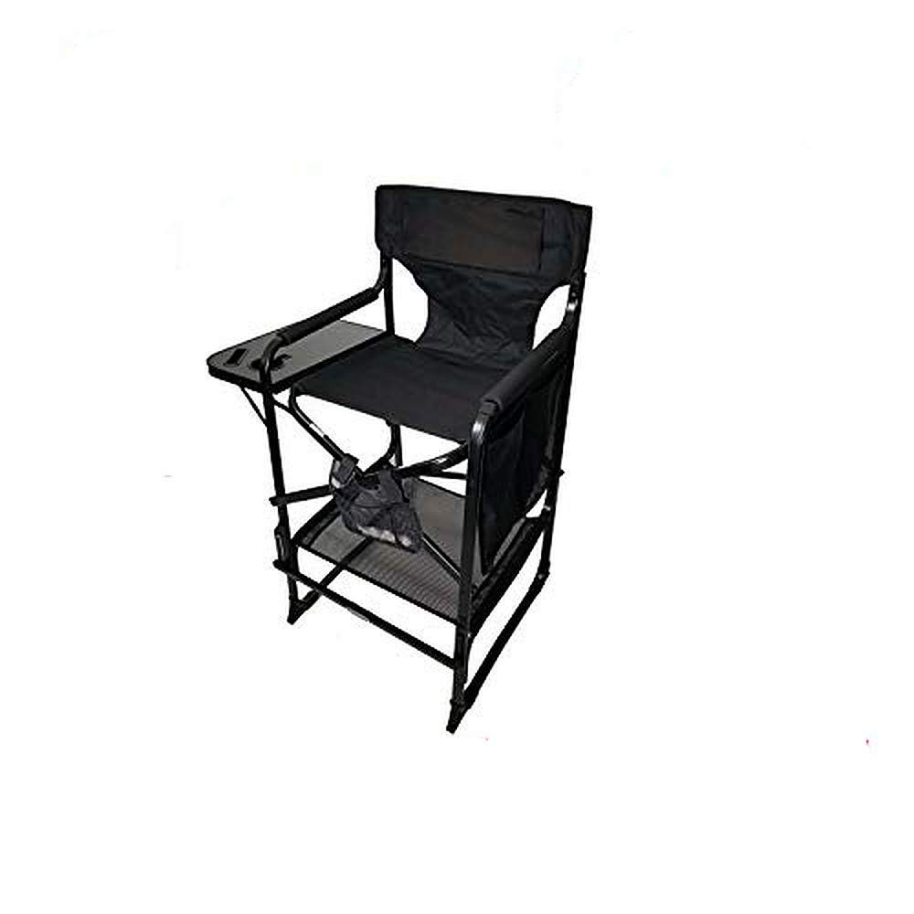 PRE Season Special ONLY TuscanyPro Portable Big Daddy Heavy-Duty Tall Director Chair - Perfect for Events - 29 Inch Seat Height - Carry Bag Included - 10 Years Warranty - US Patented by Tuscany Pro
