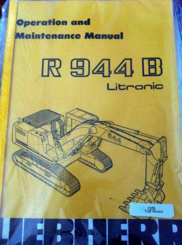 liebherr-r944b-litronic-operators-manual